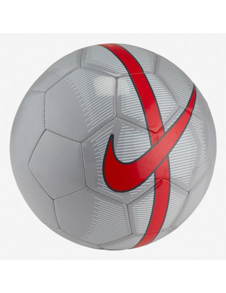 Balón Nike Mercurial Fade Ref: SC3023-013 Color: Gris,Rojo,Plateado