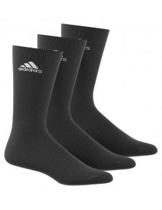 Calcetines Adidas altos Pack 3 Negro