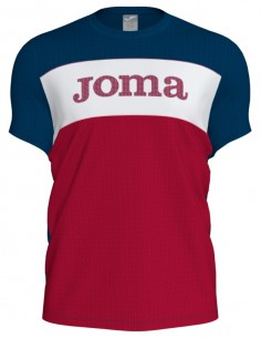 CAMISETA JOMA XIVARES MARINO-ROJO-BLANCO HOMBRE (101386.331).