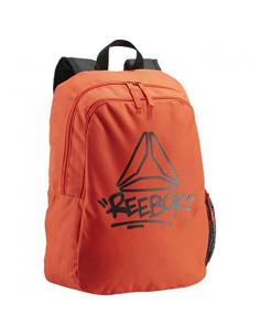 Mochila Kids Foundation - Naranja Reebok 100% Polyester.