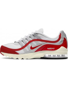 ZAPATILLAS NIKE BLANCA-ROJA AIR MAX (CK7583-102).