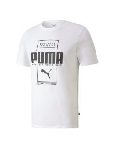 CAMISETA PUMA BLANCA HOMBRE (584505-02).