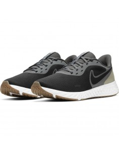 ZAPATILLAS NIKE REVOLUTION 5 GREY-LIGHT (BQ3204-016).