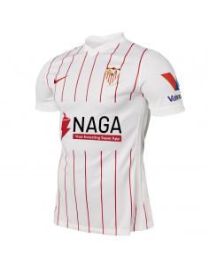 CAMISETA BLANCA 1º 21-22 SEVILLA FC NIÑO (CW3867-103).