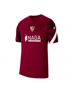 CAMISETA ENTRENO BURDEO SEVILLA FC (CW5843-677).