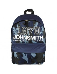 MOCHILA JOHN SMITH M-18204 AZUL CAMUFLAJE (424193 832).