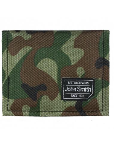 CARTERA JOHN SMITH B-18202 VERDE CAMUFLAJE (424138 100).