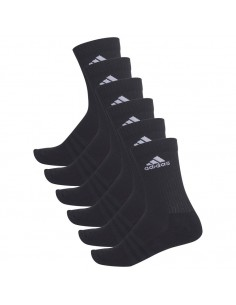 CALCETINES ADIDAS 3 STRIPES CREW - 6 paresNG (AA2295).