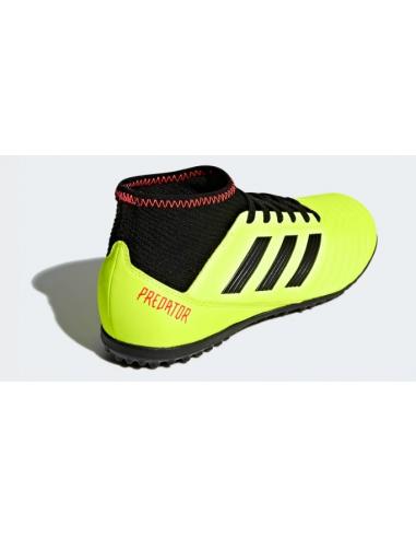 Botas de Fútbol Predator 18.3 AG Amarillo Fluor Zapatillas