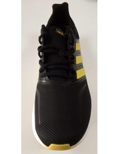 zapatillas niño adidas negras y amarillas
