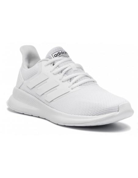 zapatillas adidas running hombre blancas