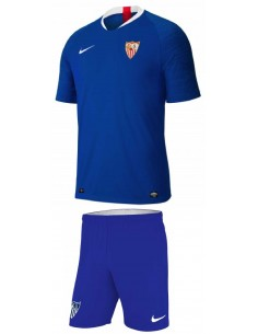 KIT NIKE OFICIAL SEVILLA FC 3ª EQUIPACION AZUL GS NIÑO TEMPORADA 2019/20 (AJ1027-480-AJ1261).