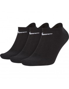 CALCETINES NIKE INVISIBLE LIGHTWEIGHT NO-SHOW UNISEX NEGRO-3 PARES (SX2554-001).